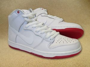 "info for 1ce52 a5758 NIKE SB ZOOM DUNK HIGH PRO QS 116 ""KEVIN BRADLEY"" WHITE WHITE UNIVERSITY RED"